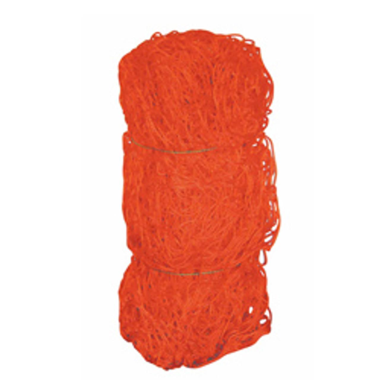Soccer net orange