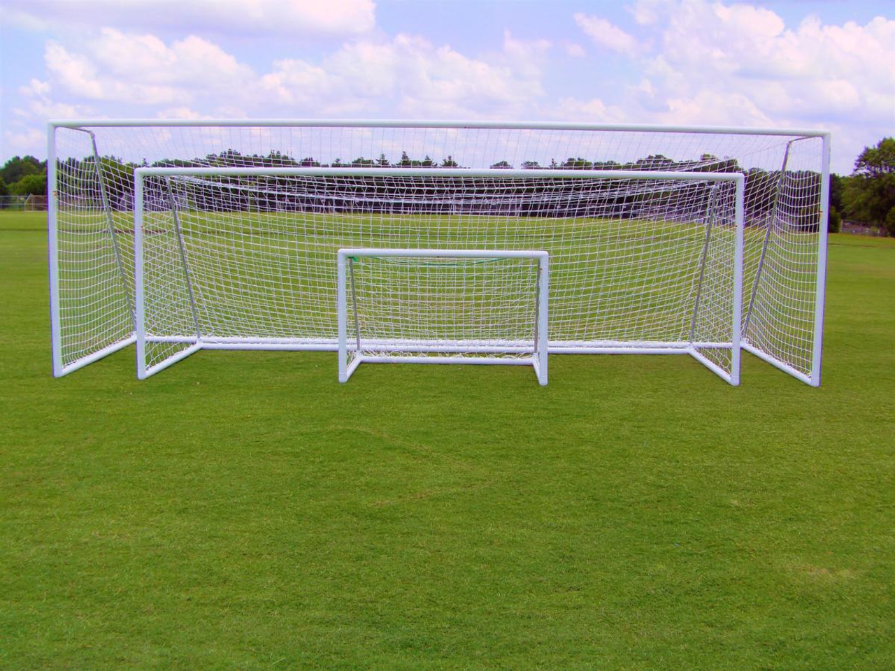 Pevo Soccer Goals Park Series 6.5' x 12'_4