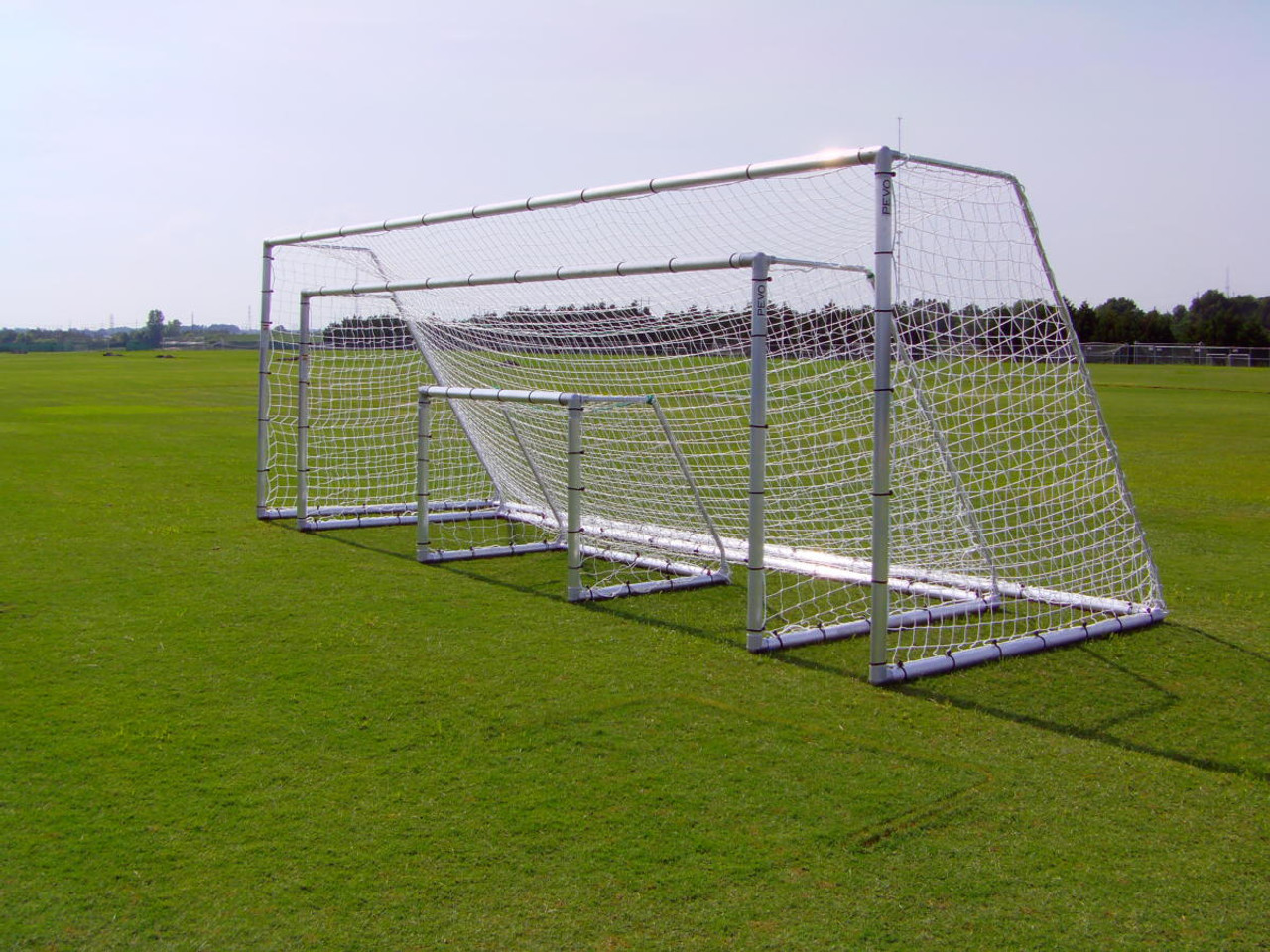 Pevo Soccer goals 8' x 24'_4