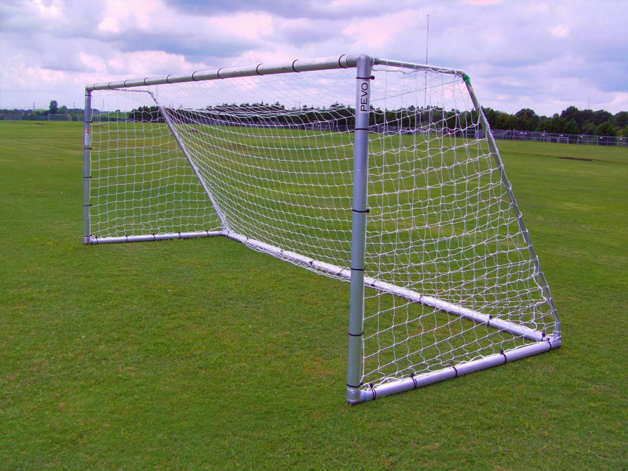 "Pevo Economy Series 3"" Round Soccer Goals (pair)"