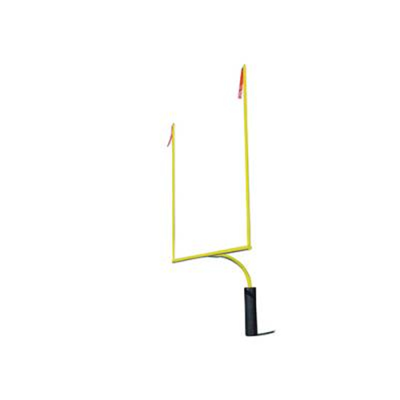 H.S. Football Goalposts with 30' Upright - Yellow