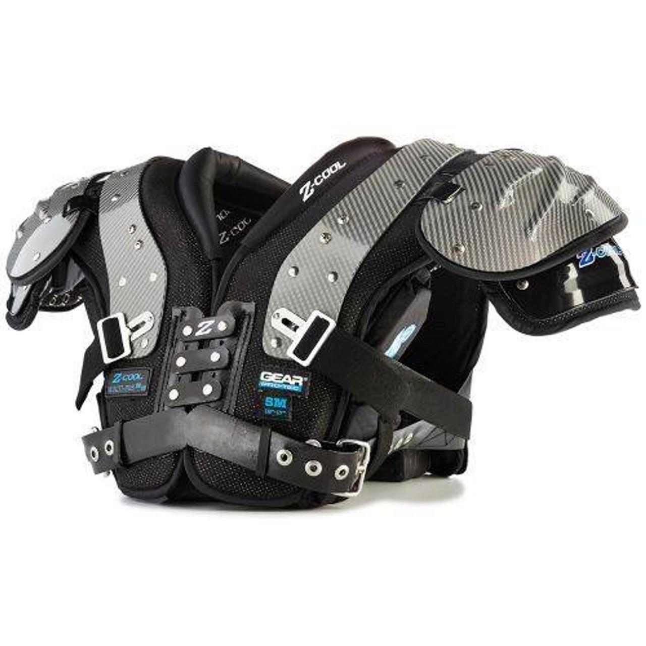 Gear Pro-Tec Adult Z-Cool DL/TE/DE Shoulder Pads-1