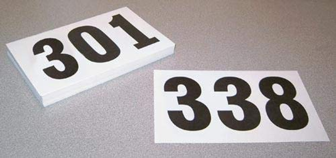Competitor Numbers 301-400