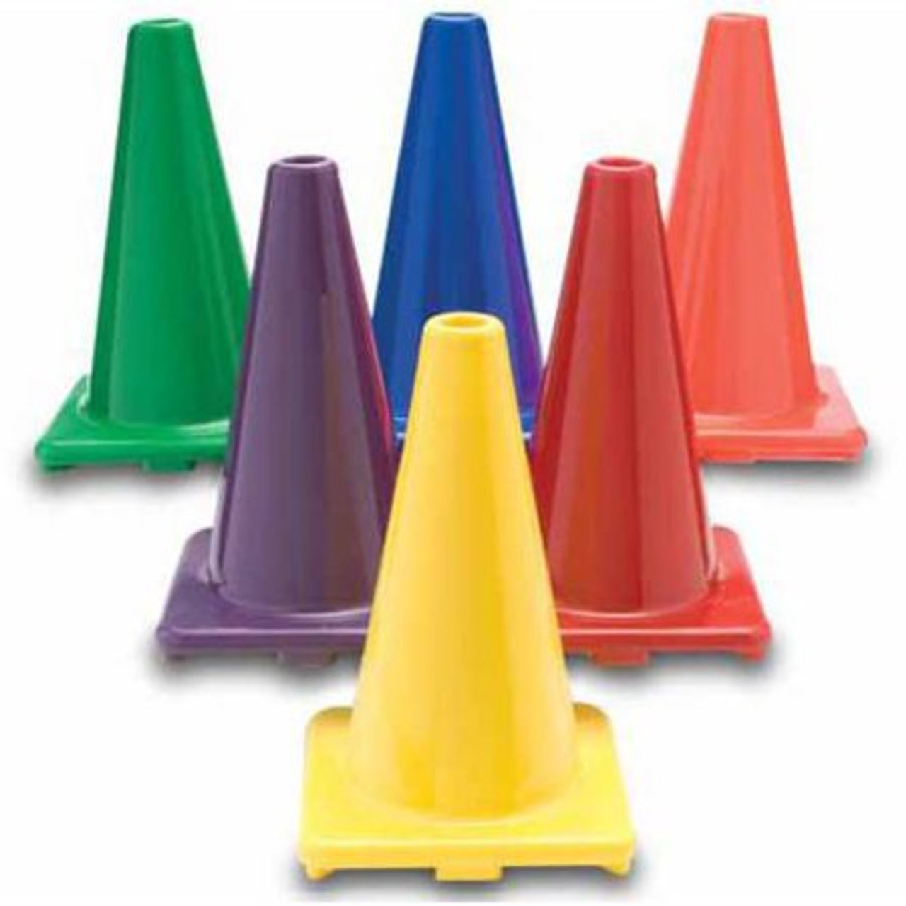 """Replacement Bonkerball Cones  - 12"""" Colored Cone 6/set"""