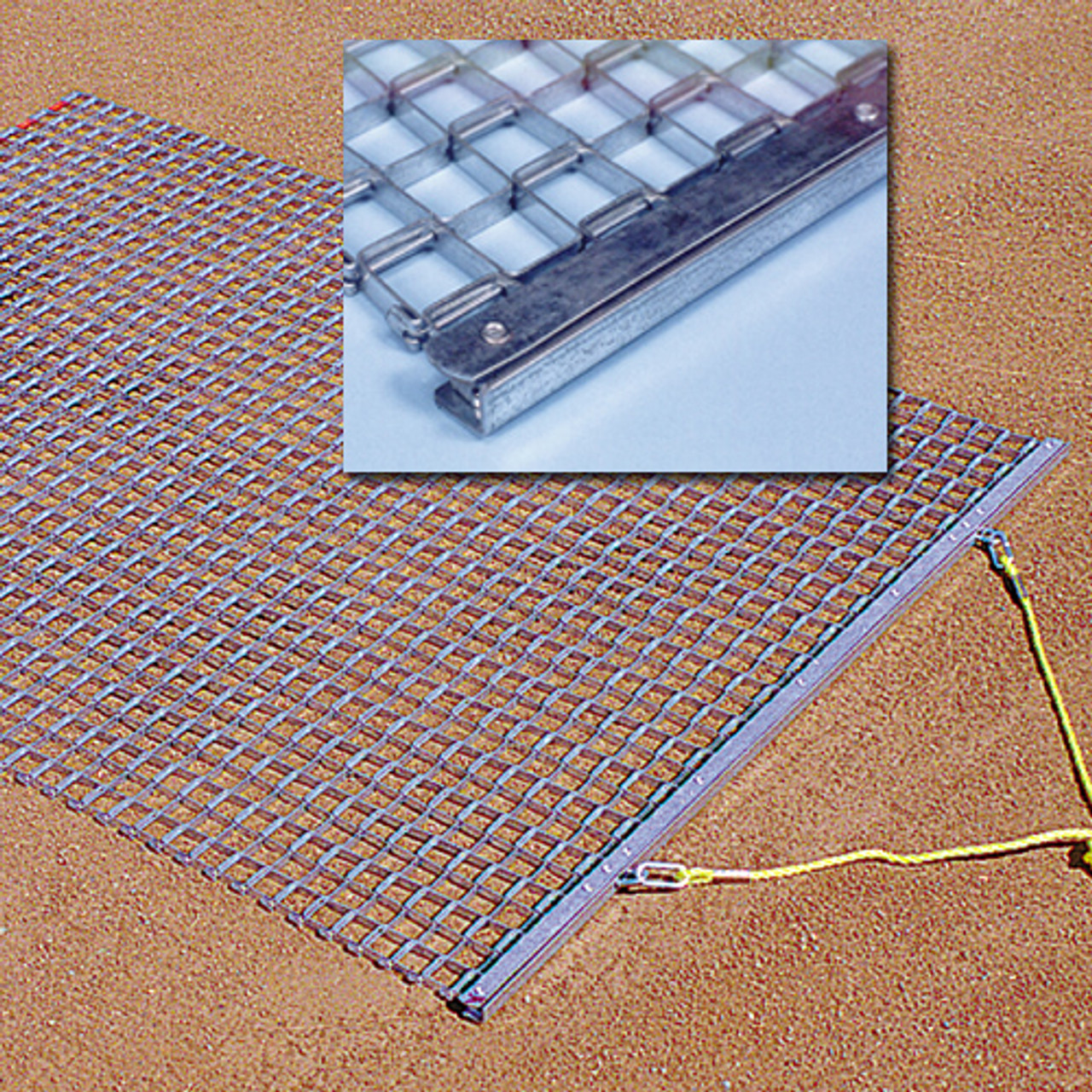 steel drag mat