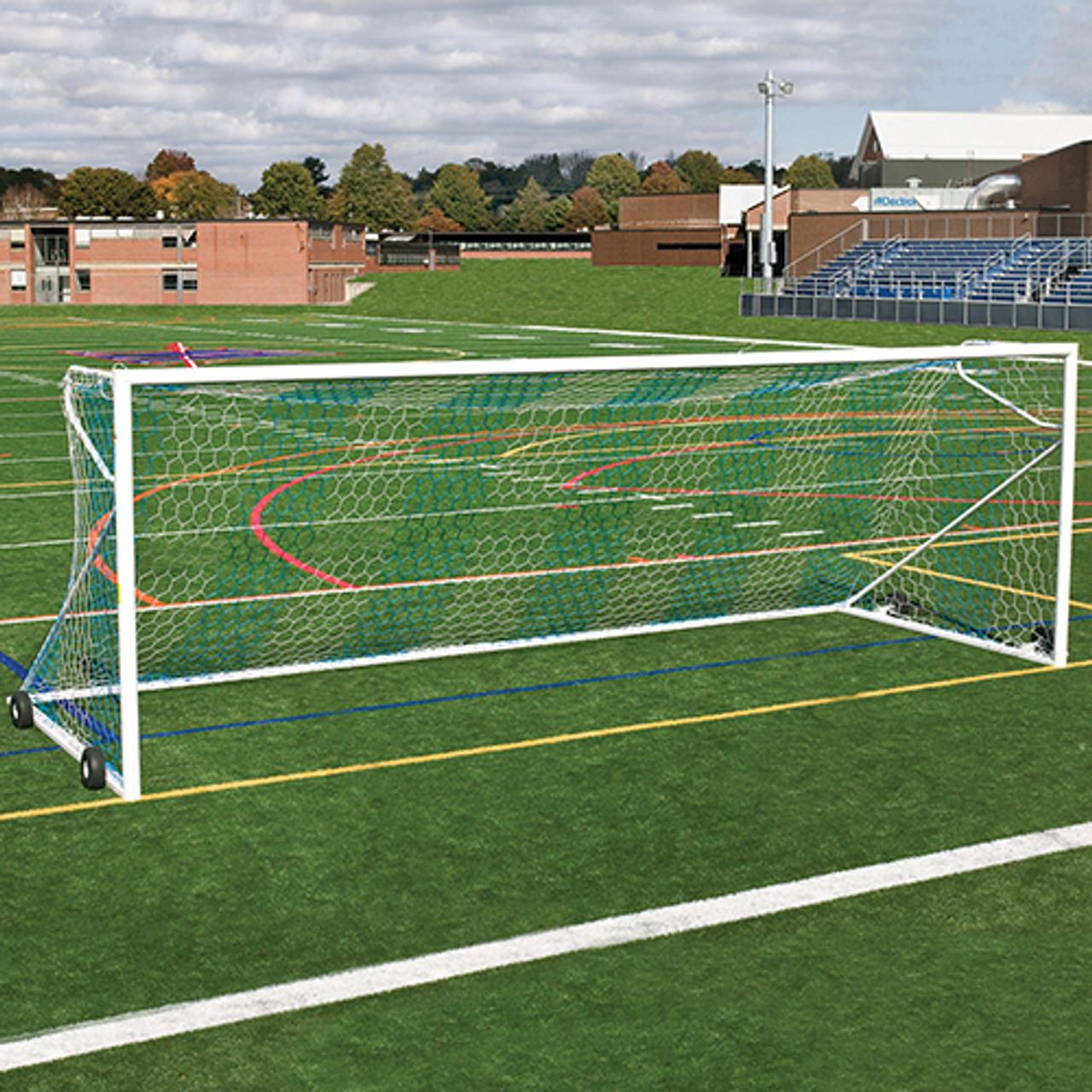 "JayPro 4"" NOVA Premier Goals (pair) - Package (Blue/White)"