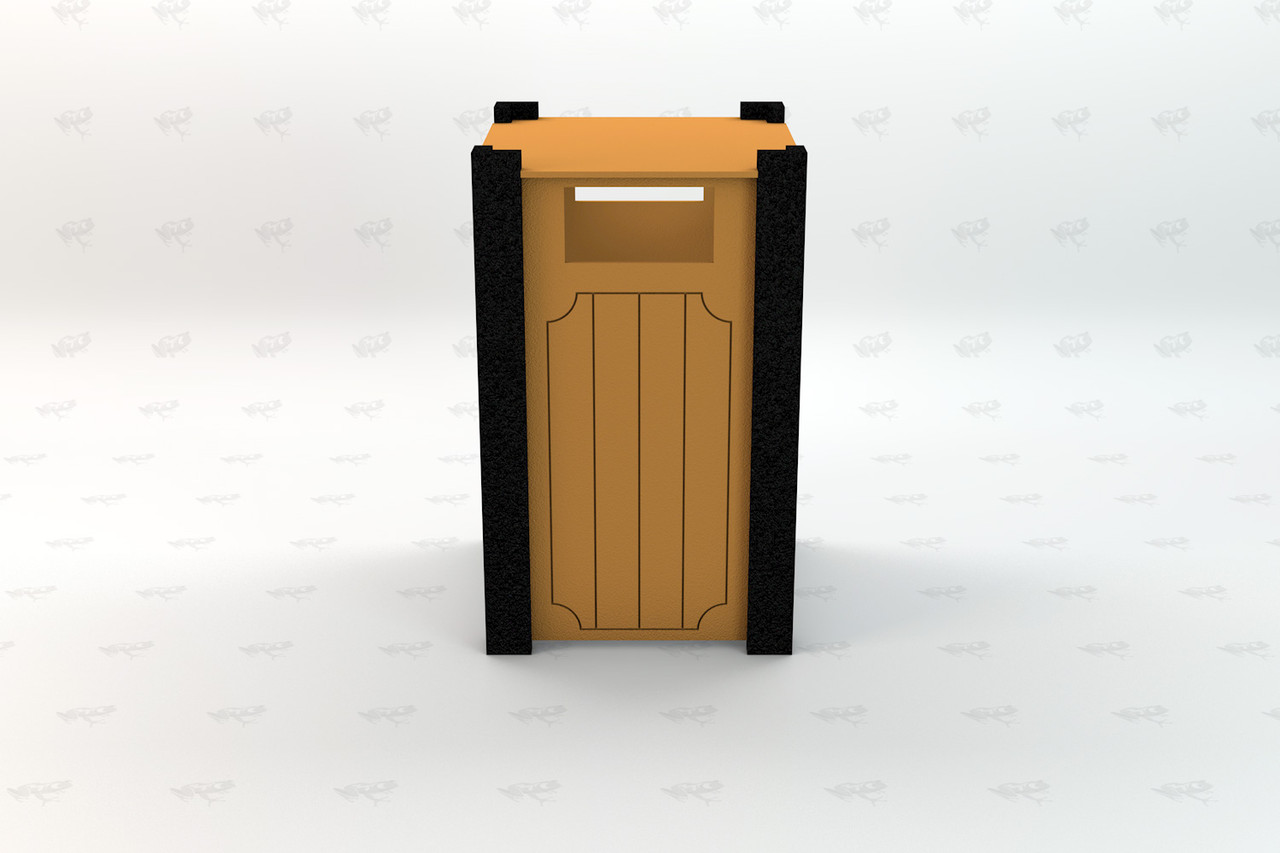 Ridgeview Recycled Plastic Receptacle