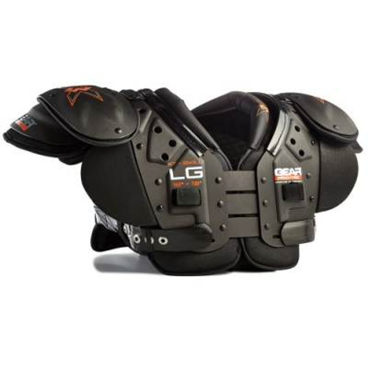 X3 football shoulder pads