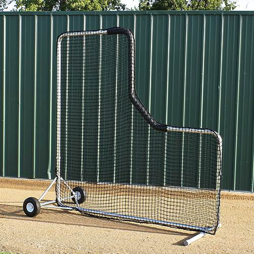Baseball Protector Pro L-Screen Steel 8' x 8'
