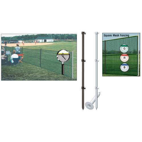 Outfield Fence Pack without Ground Sockets