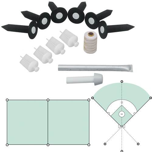Baseball Field Lining Kit