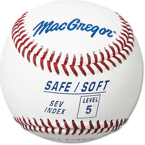 MacGregor Safe/Soft Baseball - Level 5 - Ages 8-12