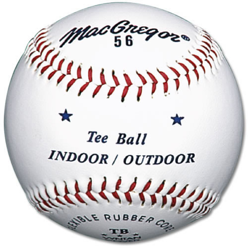 MacGregor #56 Official Indoor/Outdoor Tee Balls