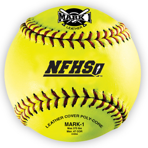 Mark 1 NFHS Softballs