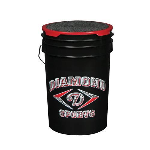 Baseball Diamond Ball Bucket