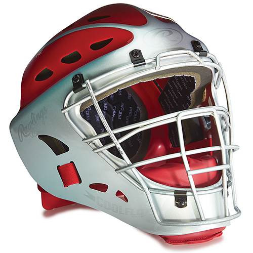 Youth Two-Tone Catcher's Helmet