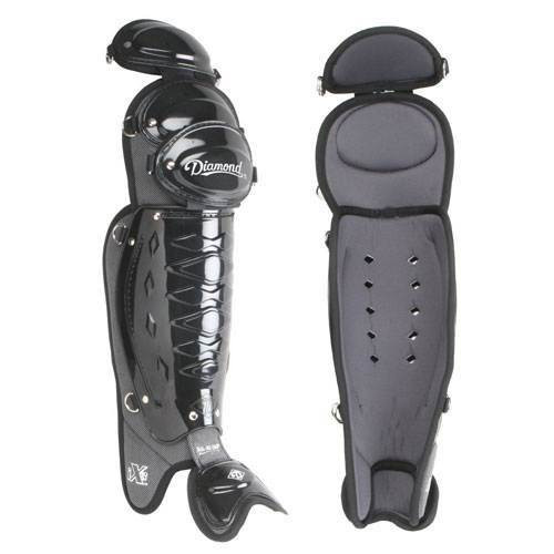 "DLG-iX3 18.5"" Baseball Umpire Leg Guards"