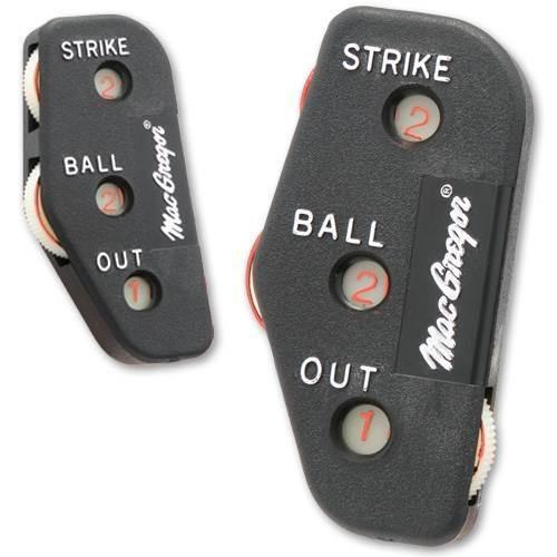 Baseball Plastic Ump's Indicator