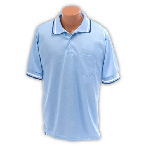 Baseball Umpire Shirt Light Blue XXL