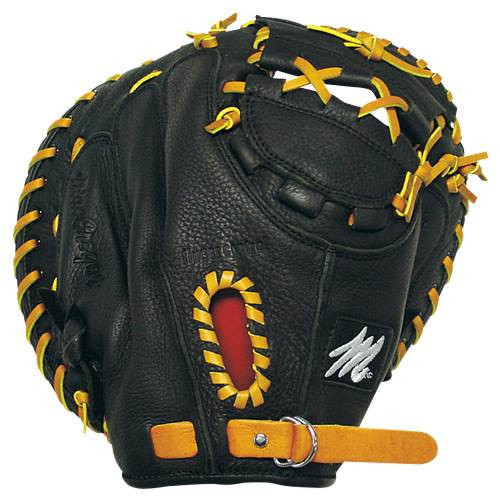 MAC Prep Series Baseball Catchers Mitt Black RHT