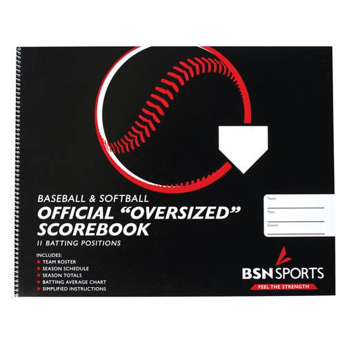 Baseball/Softball Scorebook Oversized