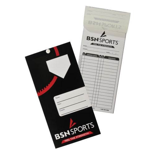 Baseball/Softball Line-Up Card Booklet