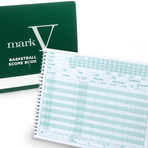 Mark V Basketball Scorebook