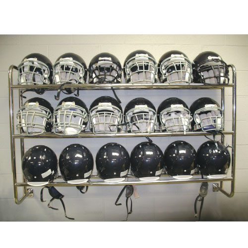 Wall Mounted Helmet / Ball Rack