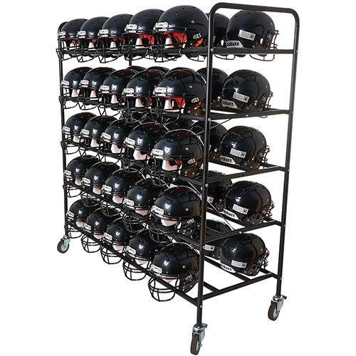 Football Helmet Cart