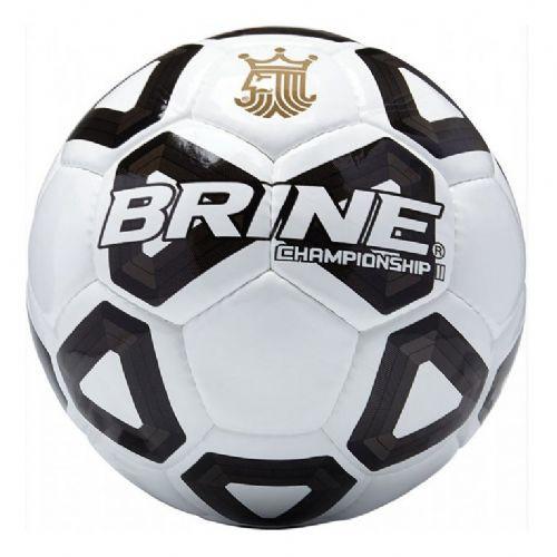 Brine Championship II Soccer Ball Size 5-White/Black