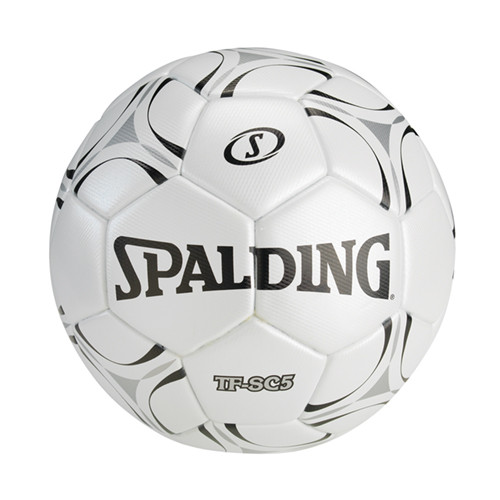 Spalding TF-SC5 Soccer Ball White/Black Sz 5