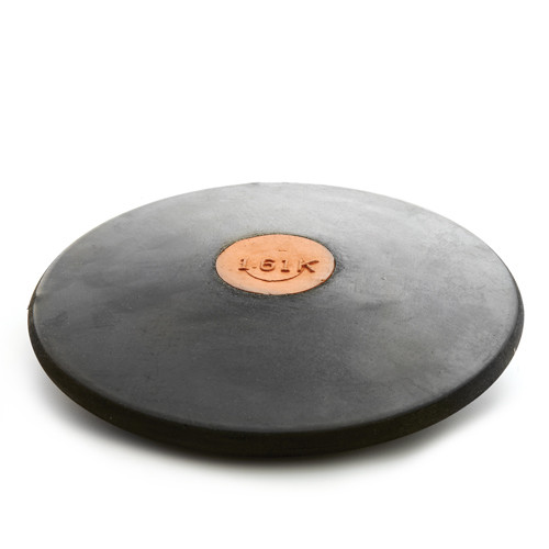 Black Rubber Discus -Official 1.6K track and field
