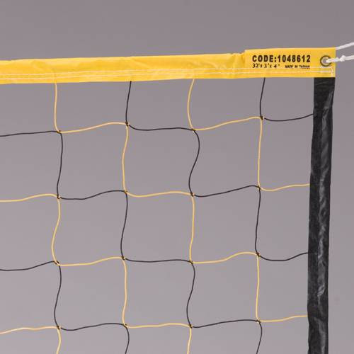 Economy Yel/Blk Volleyball Net