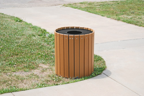 Standard Round Receptacle - 55 gallons