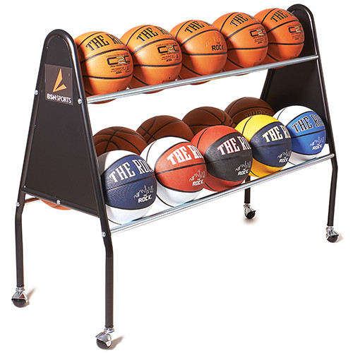 15 Ball Basketball Cart