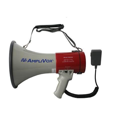 Amplivox Mity-Meg 25W Megaphone w/Microphone