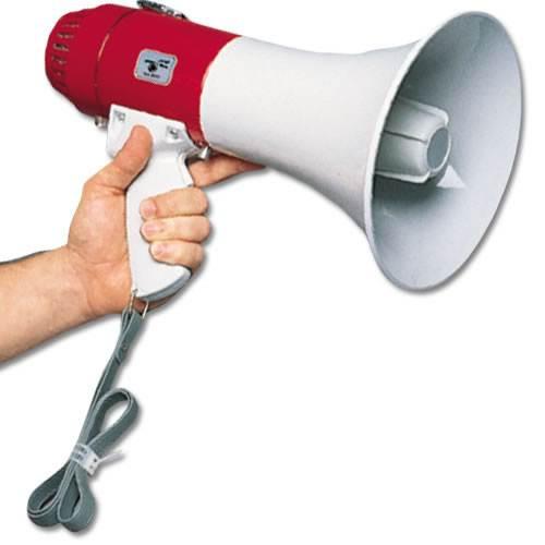 1000 Yard Megaphone w/ Built in Trigger Microphone
