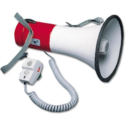 1,000-Yard Megaphone with Hand Held Microphone