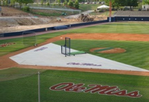 Baseball Field Covers Weighted Infield Protector 15'x20'x50'