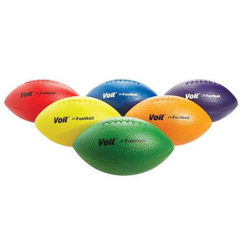 "Coated Foam 9 3/4"" Football Set of 6"