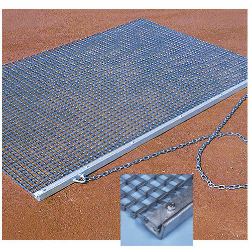 Baseball infield heavy duty drag mat
