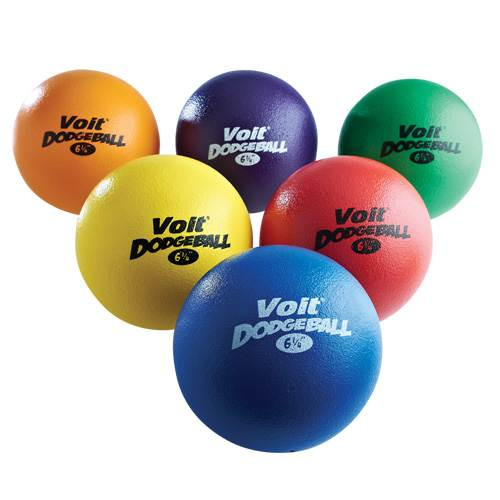 "Voit Tuff 6 1/4"" Dodgeball - Color My Class"