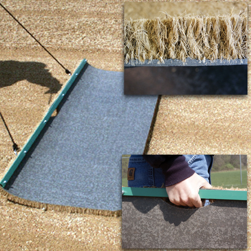 Baseball field cocoa drag mat