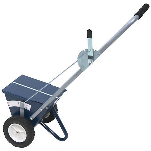 AlumaGoal 2-wheel dry line marker for baseball field maintenance