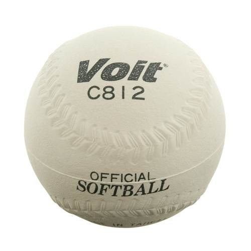 Voit® 12'' Sponge Center Softball - White