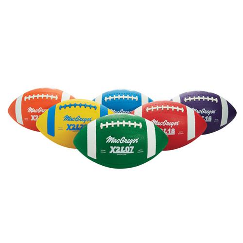 MacGregor Multicolor Rubber Footballs