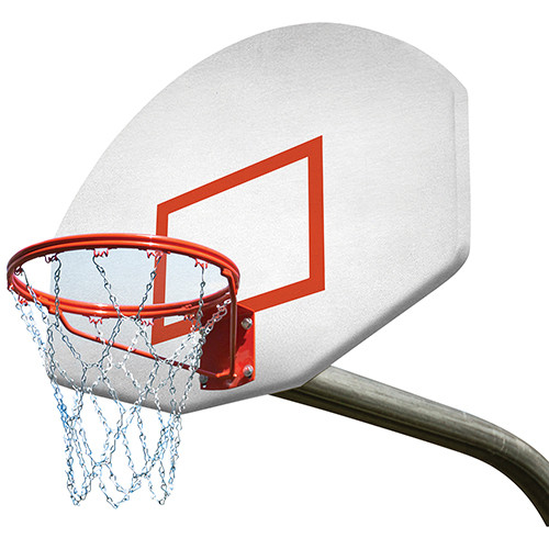 Outdoor Gooseneck Basketball Systems