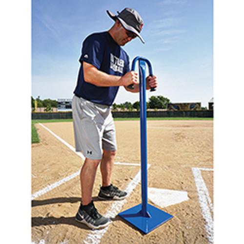 Tamper for baseball fields