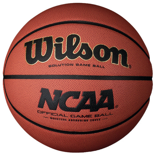Wilson NCAA Official Indoor Basketball - Official Size