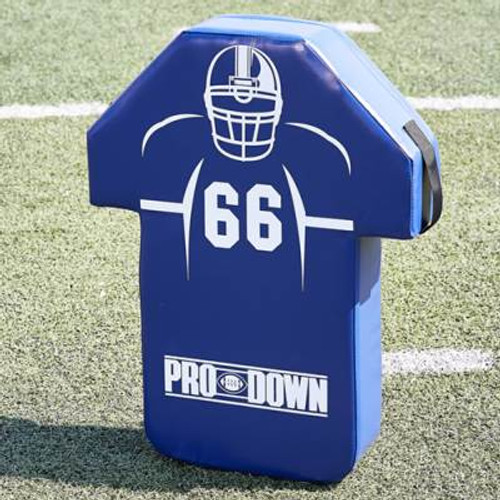 Pro Down Man Shield - Royal